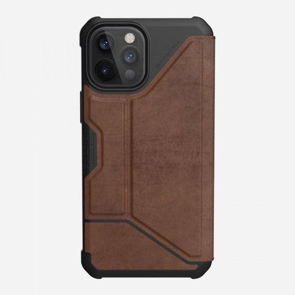 UAG Metropolis Case for iPhone 12 Pro Max - Leather Brown 7