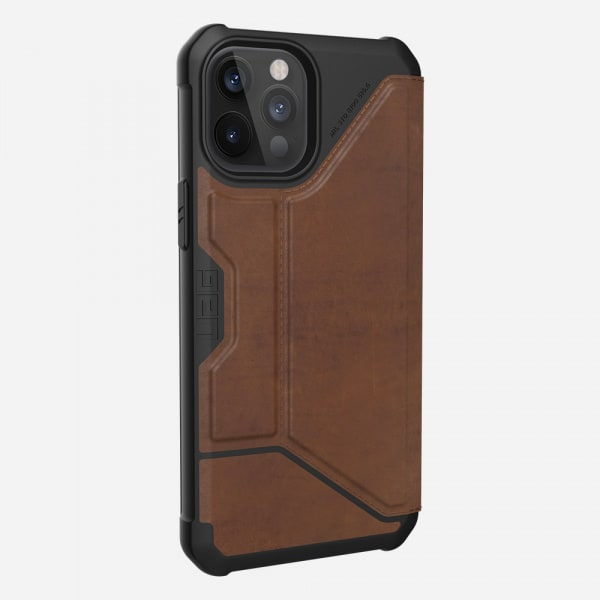 UAG Metropolis Case for iPhone 12 Pro Max - Leather Brown 3