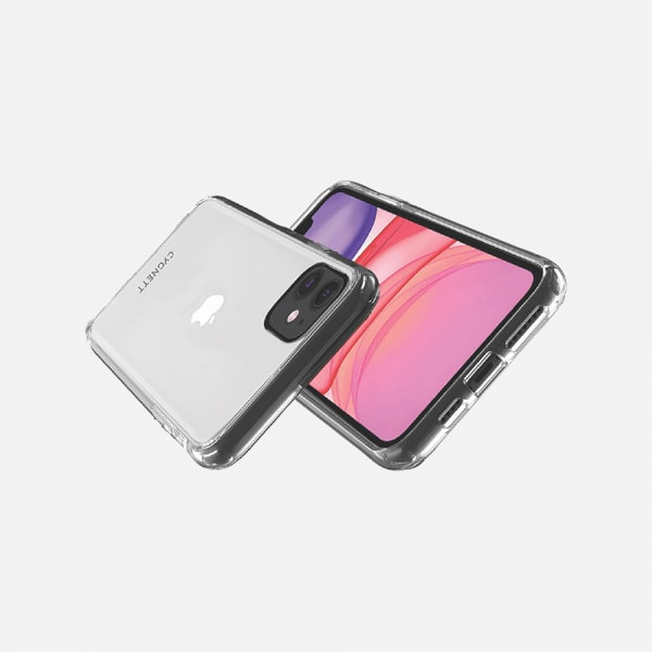 CYGNETT AeroShield Case for iPhone 12 Mini - Crystal 1
