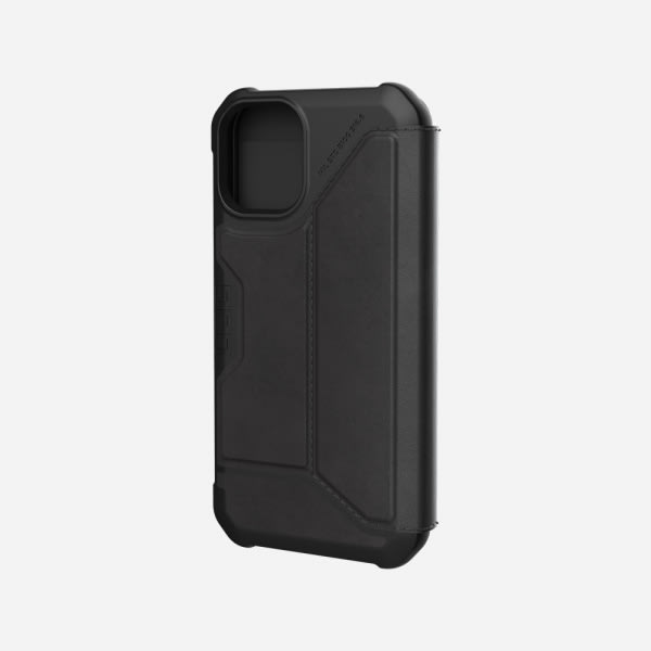 UAG Metropolis Case for iPhone 12 Mini - Leather Black 0