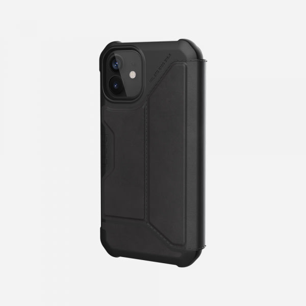 UAG Metropolis Case for iPhone 12 Mini - Leather Black 2