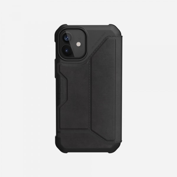 UAG Metropolis Case for iPhone 12 Mini - Leather Black 3