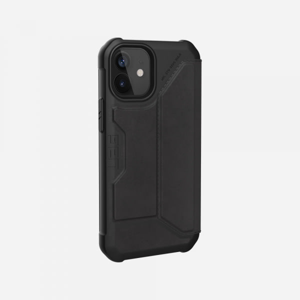 UAG Metropolis Case for iPhone 12 Mini - Leather Black 4