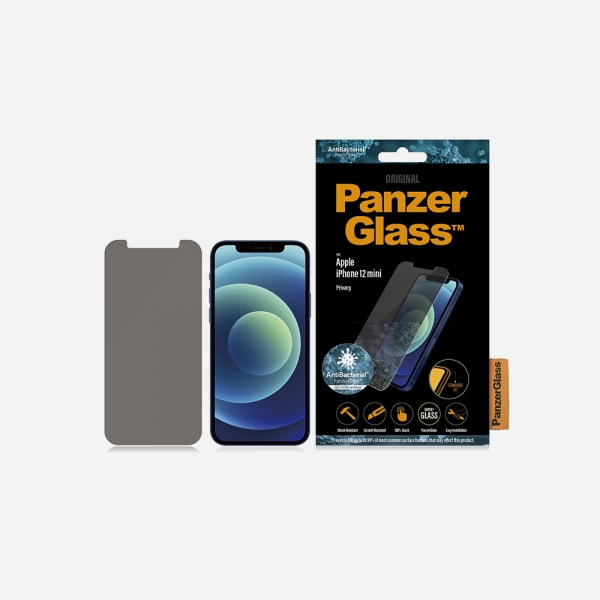 PANZERGLASS Standard Fit for iPhone 12 mini - Privacy 1