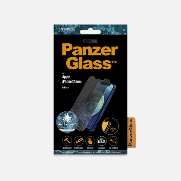 PANZERGLASS Standard Fit for iPhone 12 mini - Privacy 2