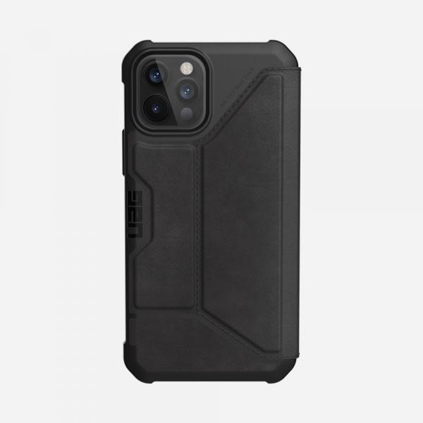 UAG Metropolis Case for iPhone 12/12 Pro - Leather Black 4