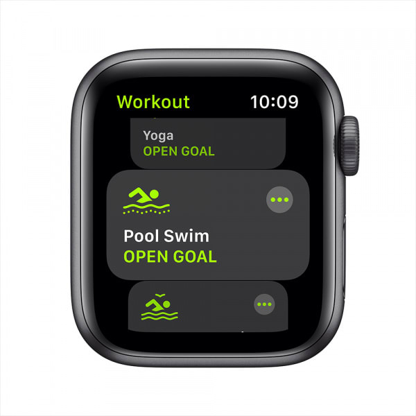 Apple Watch SE GPS 40mm Space Gray Aluminium Case with Black Sport Band 2