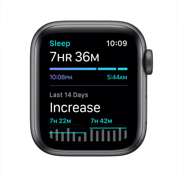 Apple Watch SE GPS 40mm Space Gray Aluminium Case with Black Sport Band 4