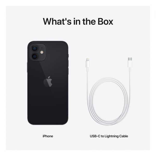 iPhone 12 mini 256GB Black 6