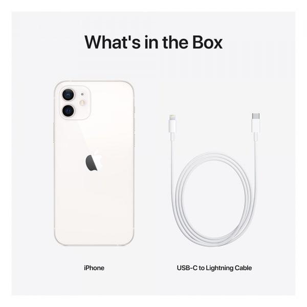 iPhone 12 mini 256GB White 6