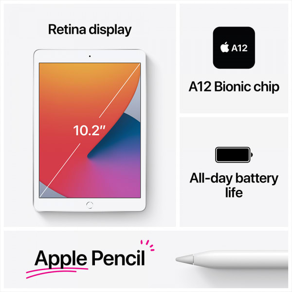 10.2-inch iPad Wi-Fi 32GB - Space Gray 4