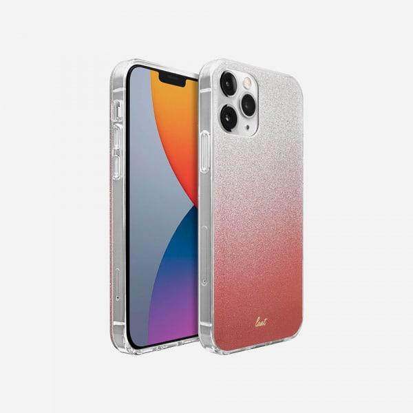 LAUT Ombre Sparkle for iPhone 12/12 Pro - Peach 1