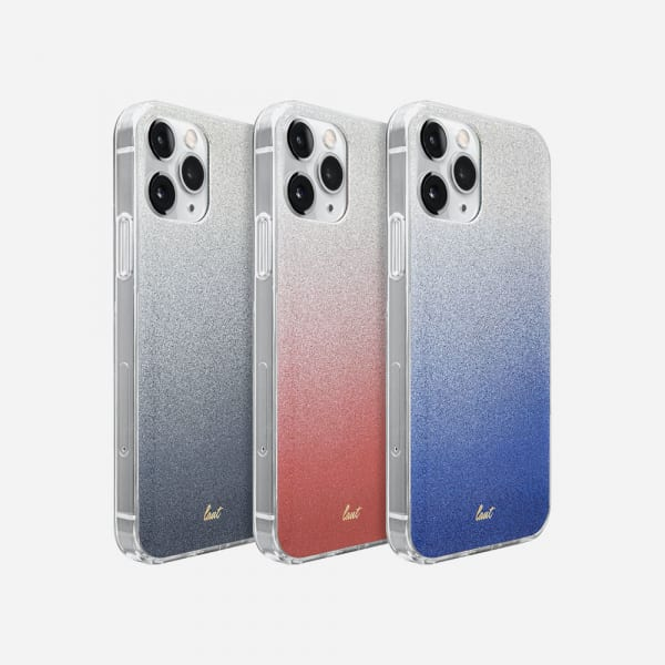 LAUT Ombre Sparkle for iPhone 12/12 Pro - Peach 2