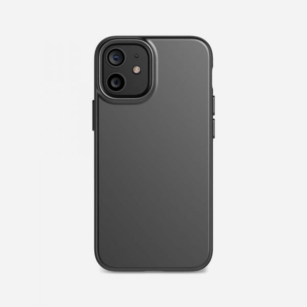TECH21 EvoSlim for iPhone 12 Mini - Charcoal Black 0