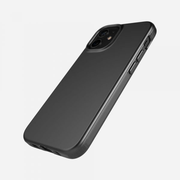TECH21 EvoSlim for iPhone 12 Mini - Charcoal Black 3