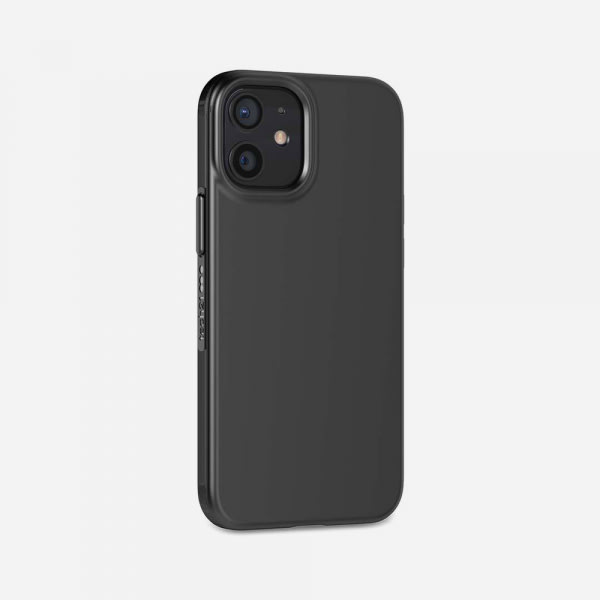 TECH21 EvoSlim for iPhone 12 Mini - Charcoal Black 2
