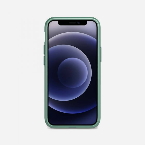 TECH21 EvoSlim for iPhone 12 Mini - Midnight Green 1