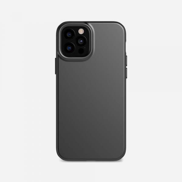 TECH21 EvoSlim for iPhone 12/12 Pro - Charcoal Black 0