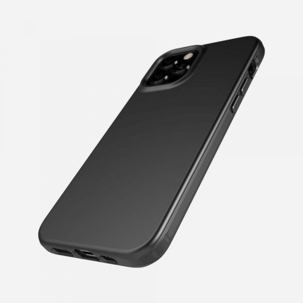 TECH21 EvoSlim for iPhone 12/12 Pro - Charcoal Black 3