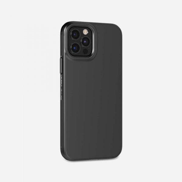 TECH21 EvoSlim for iPhone 12/12 Pro - Charcoal Black 1