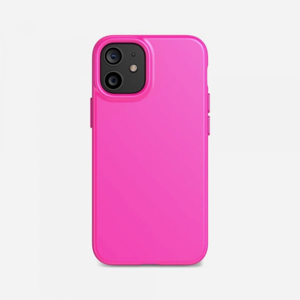 TECH21 EvoSlim for iPhone 12 Mini - Mystical Fuchsia 0