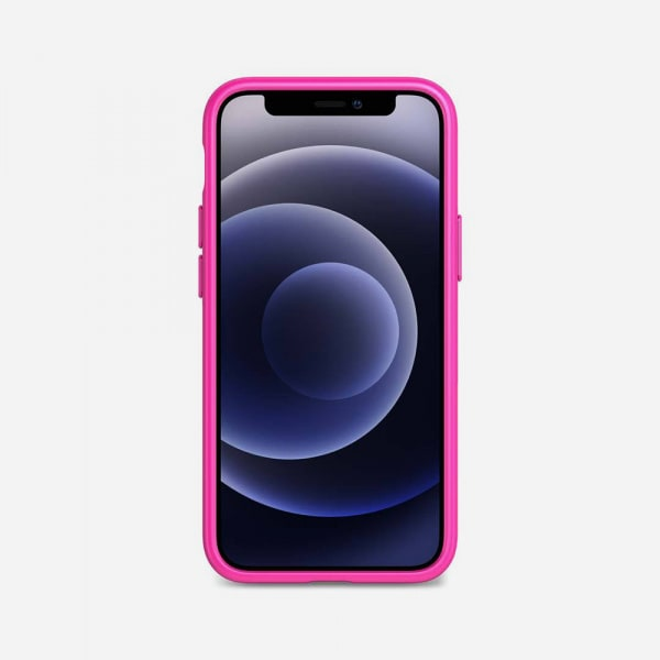 TECH21 EvoSlim for iPhone 12 Mini - Mystical Fuchsia 3