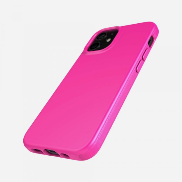 TECH21 EvoSlim for iPhone 12 Mini - Mystical Fuchsia 1