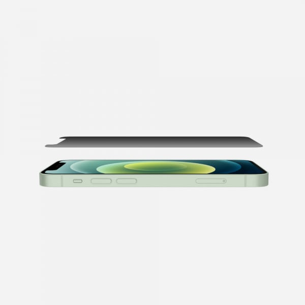 BELKIN Screenforce Tempered Glass for iPhone 12 mini - Privacy 3
