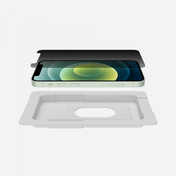 BELKIN Screenforce Tempered Glass for iPhone 12 mini - Privacy 4
