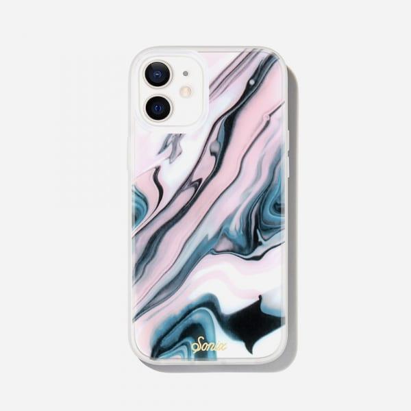 SONIX Clear Coat Case for iPhone 12/12 Pro - Blush Quartz 0