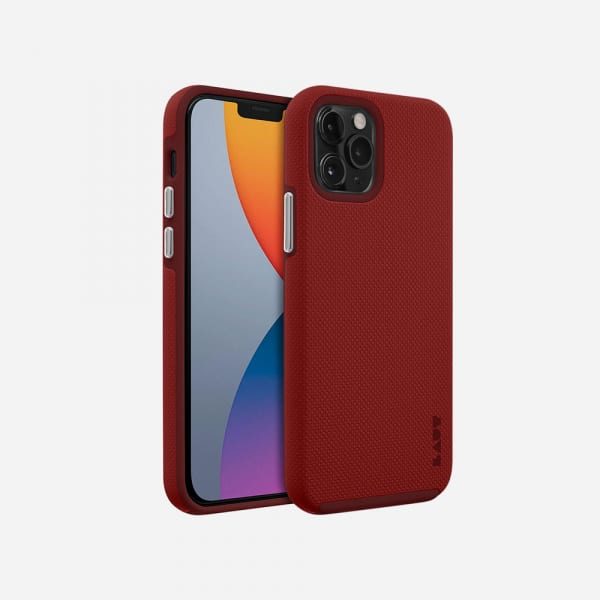 LAUT Shield for iPhone 12 Mini - Crimson 1