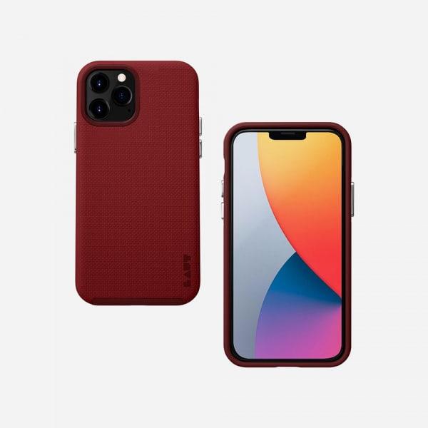 LAUT Shield for iPhone 12 Mini - Crimson 0