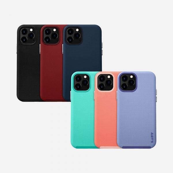 LAUT Shield for iPhone 12 Mini - Crimson 2