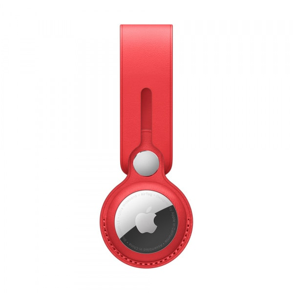 AirTag Leather Loop - (PRODUCT)RED 1