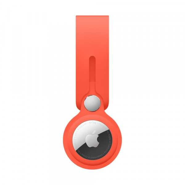 AirTag Loop - Electric Orange 1