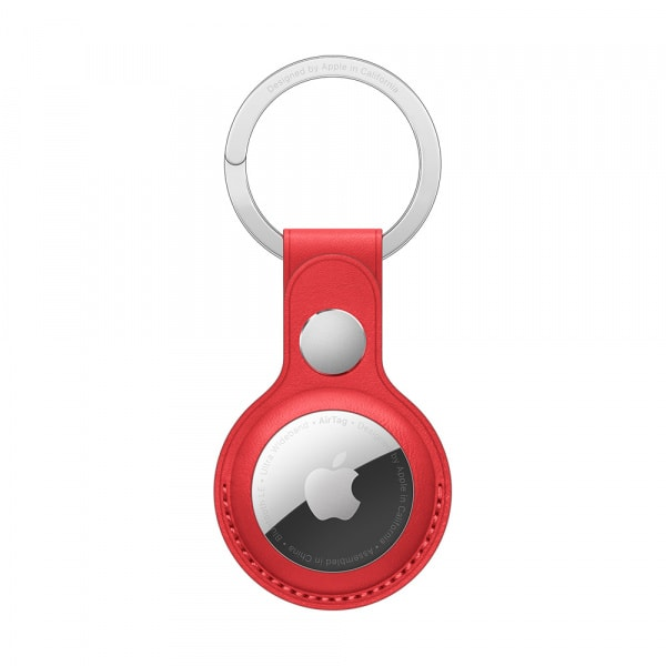 AirTag Leather Key Ring - (PRODUCT)RED 1