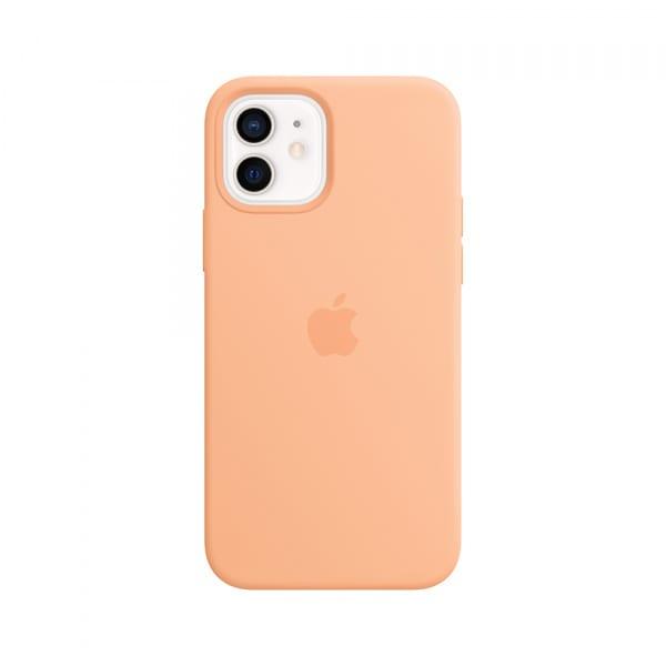 iPhone 12   12 Pro Silicone Case with MagSafe - Cantaloupe 0