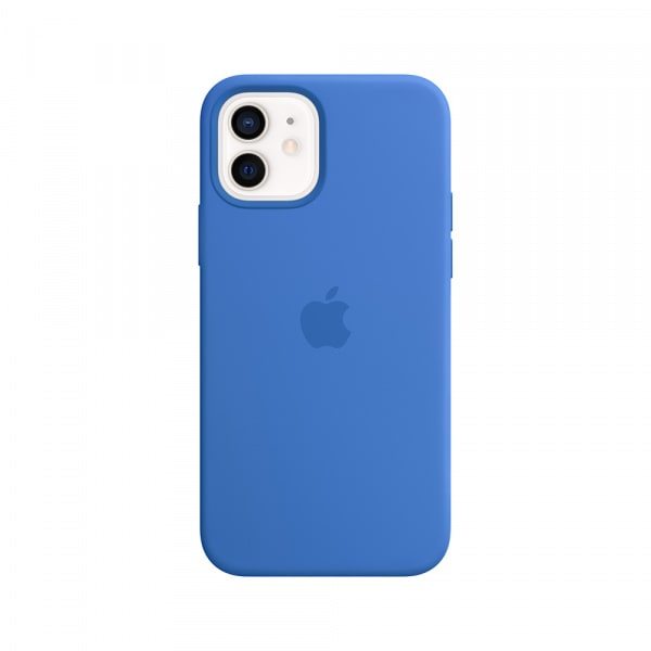 iPhone 12 | 12 Pro Silicone Case with MagSafe - Capri Blue 0
