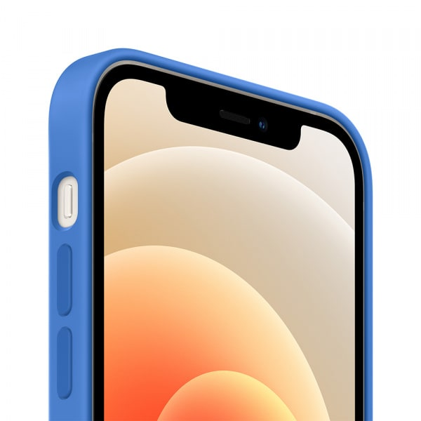 iPhone 12 | 12 Pro Silicone Case with MagSafe - Capri Blue 1