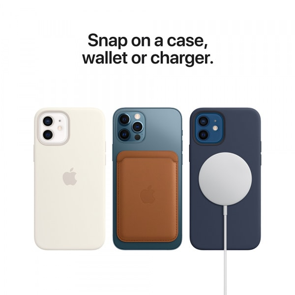 iPhone 12 | 12 Pro Silicone Case with MagSafe - Capri Blue 3