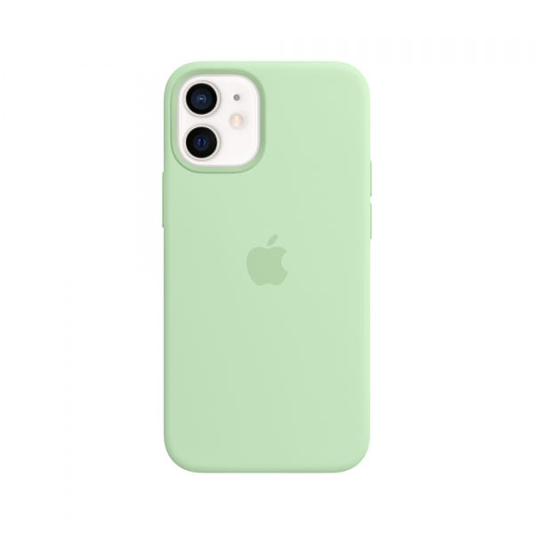 iPhone 12 mini Silicone Case with MagSafe - Pistachio 0