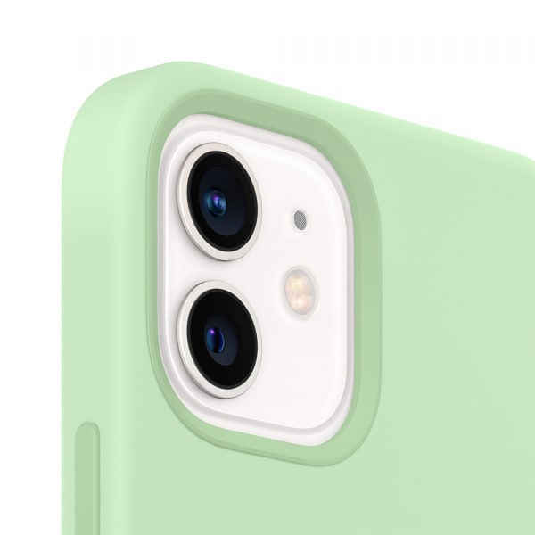 iPhone 12 mini Silicone Case with MagSafe - Pistachio 2