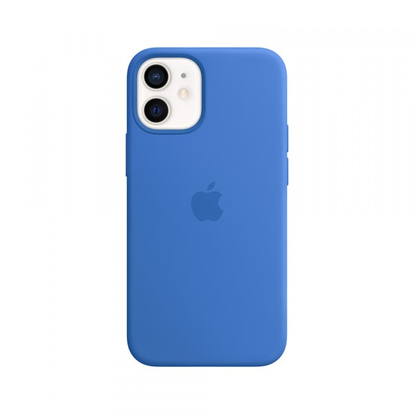 iPhone 12 mini Silicone Case with MagSafe - Capri Blue 0