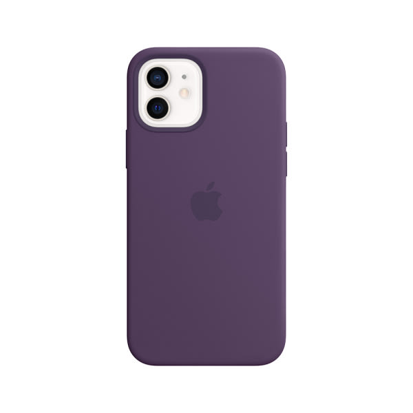 iPhone 12 | 12 Pro Silicone Case with MagSafe - Amethyst 2