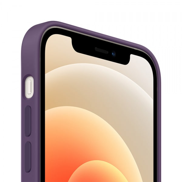 iPhone 12 | 12 Pro Silicone Case with MagSafe - Amethyst 1