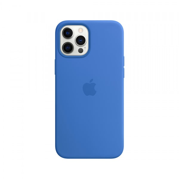 iPhone 12 Pro Max Silicone Case with MagSafe - Capri Blue 0