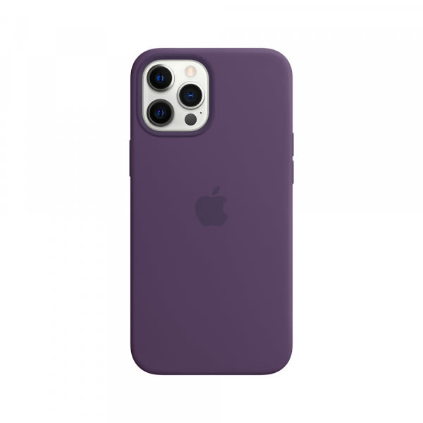 iPhone 12 Pro Max Silicone Case with MagSafe - Amethyst 0