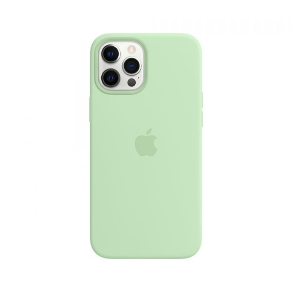 iPhone 12 Pro Max Silicone Case with MagSafe - Pistachio 1