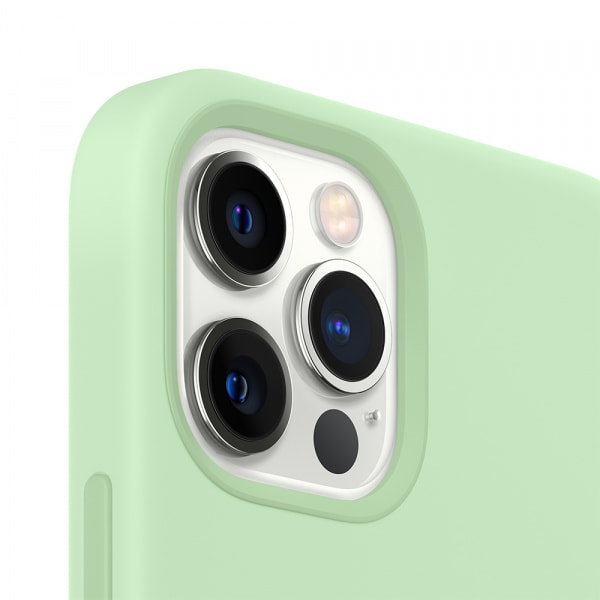 iPhone 12 Pro Max Silicone Case with MagSafe - Pistachio 2