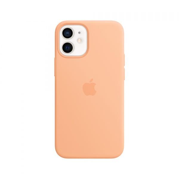 iPhone 12 mini Silicone Case with MagSafe - Cantaloupe 0